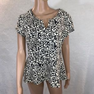 LOVE 21 women's blouse size L zipper